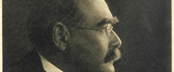 English writer, Rudyard Kipling (1865-1936)
